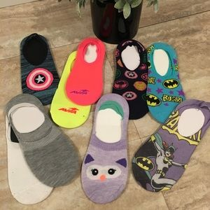 Pack of 9 No Show Socks